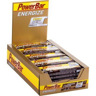 PowerBar Energize - Cookies & Cream (Box) - Energieriegel