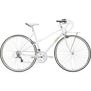 Creme Cycles Echo Mixte Solo 2019, white - Fitnessbike