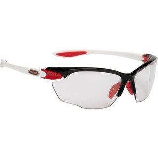 Alpina Twist Four VL+, black red white/Lens: varioflex+ black - Sportbrille
