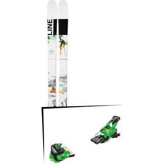 Set: Line Tom Wallisch Pro 2019 + Tyrolia Attack² 13 GW green