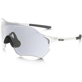 Oakley EVZero Range, matte white/Lens: clear to black iridium photochromic - Sportbrille
