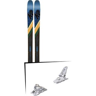 Set: K2 SKI Wayback 84 2019 + Marker Squire 11 ID white