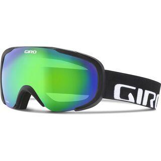 Giro Compass, black wordmark/Lens: loden green - Skibrille