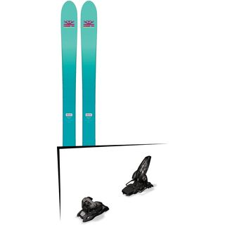 Set: DPS Skis Nina F99 Foundation 2018 + Marker Griffon 13 ID black