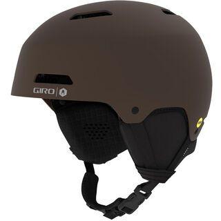Giro Ledge MIPS, matte dark brown - Skihelm