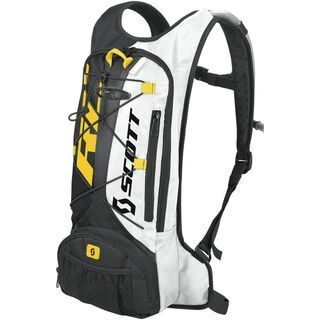 Scott Airstrike Hydro Backpack, black/rc yellow - Fahrradrucksack