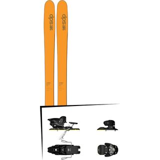 DPS Skis Set: Wailer 99 Hybrid T2 2016 + Salomon Warden MNC 13