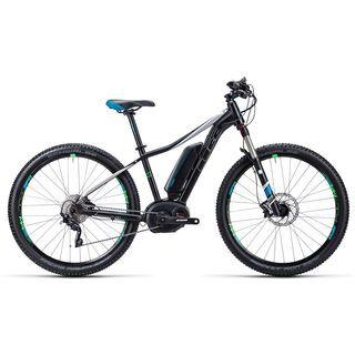 Cube Access WLS Hybrid Race 27.5 2015, black/petrol - E-Bike