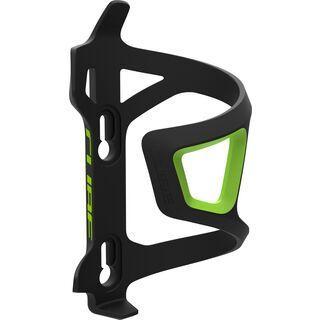 Cube Flaschenhalter HPP Left-Hand Sidecage black'n'green