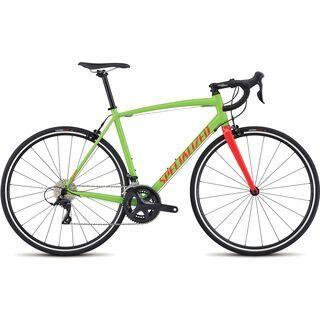 Specialized Allez E5 Sport 2017, mo green/black/red - Rennrad