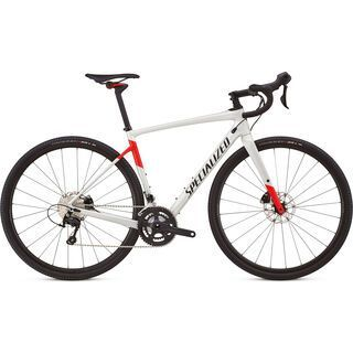 Specialized Diverge Comp 2018, white/red/black - Gravelbike