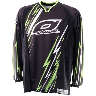 ONeal Element FR Jersey, black/green - Radtrikot