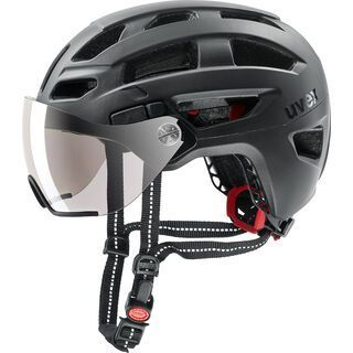 uvex finale visor, black mat - Fahrradhelm