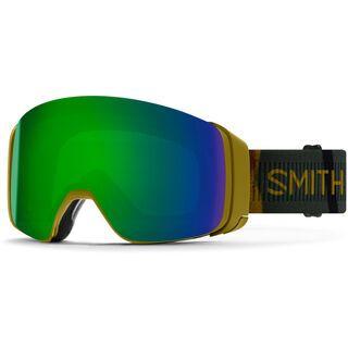 Smith 4D Mag inkl. WS, spray camo/Lens: cp sun green mir - Skibrille
