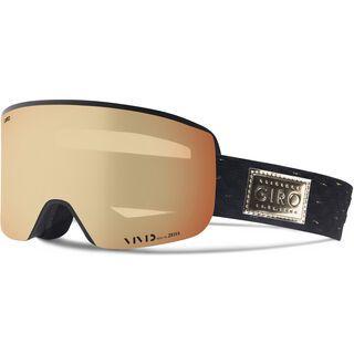 Giro Ella inkl. WS, black gold/Lens: vivid copper - Skibrille