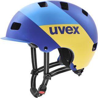uvex hlmt 5 bike pro, blue energy mat - Fahrradhelm