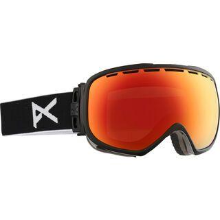 Anon Hawkeye + Spare Lens, Black/Red Solex - Skibrille