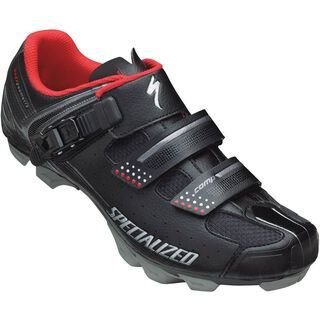 Specialized Comp MTB, Black/Red - Radschuhe