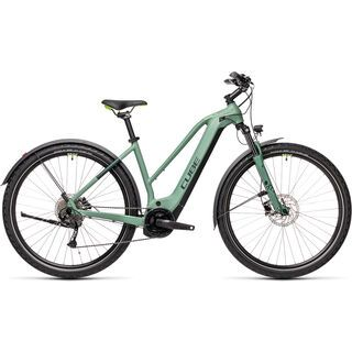 Cube Nature Hybrid ONE Allroad 625 Trapeze 2021, green´n´sharpgreen - E-Bike