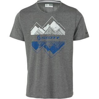 Scott Trail MTN DRI s/sl Shirt, grey melange - Funktionsshirt
