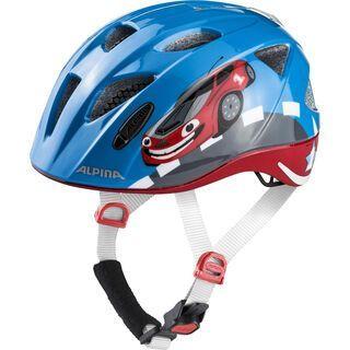 Alpina Ximo Flash, red car - Fahrradhelm