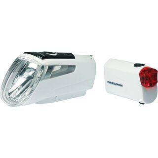 Trelock LS 460 I-Go Power / LS 720 - Beleuchtungsset, white