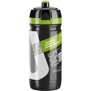 Elite Corsa, schwarz/grün - Trinkflasche