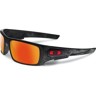 Oakley Crankshaft, shadow camo/fire iridium - Sonnenbrille