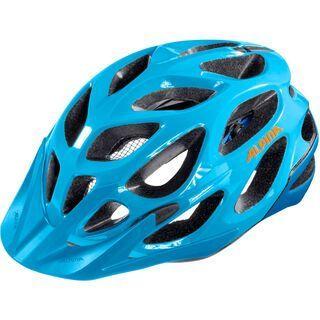 Alpina Mythos 2.0, blue orange - Fahrradhelm