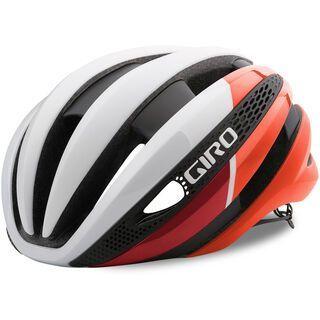 Giro Synthe MIPS, mat white red - Fahrradhelm