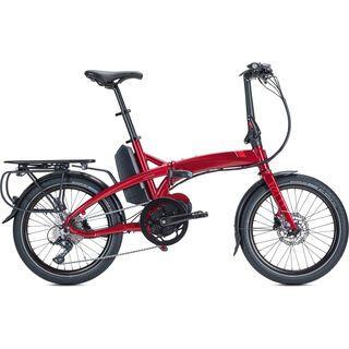 Tern Vektron P9 2019, dark red/red - E-Bike