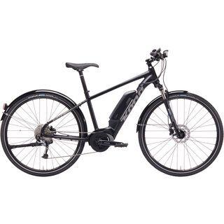 Kona Splice-E 2019, black w/ silver - E-Bike