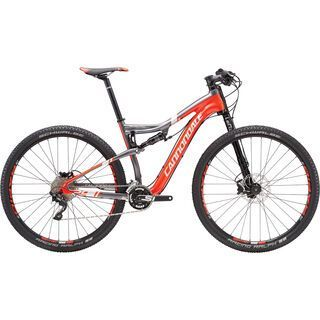 Cannondale Scalpel Carbon 3 29 2016, red/silver - Mountainbike