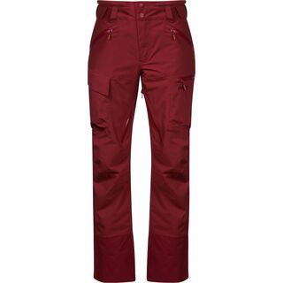 Bergans Hafslo Insulated Lady Pants, bordeaux - Skihose
