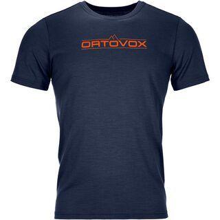 Ortovox 185 Merino 1st Logo TS M, dark navy - Unterhemd