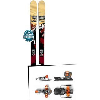Set: Icelantic Nomad 95 2018 + G3 Ion 10