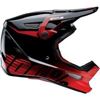 100% Status DH/BMX Helmet, selecta red - Fahrradhelm