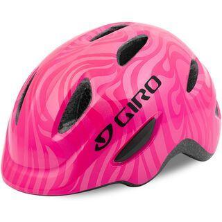 Giro Scamp, pink/swirl - Fahrradhelm