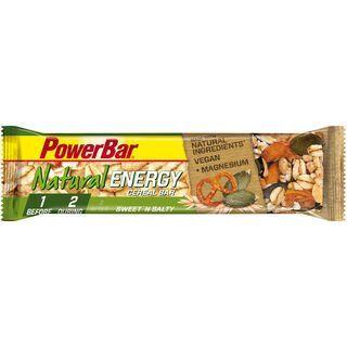 PowerBar Natural Energy Cereal (Vegan) - Sweet'n Salty - Energieriegel