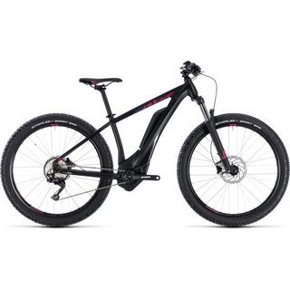 Cube Access Hybrid Pro 400 27.5 2018, black´n´berry - E-Bike