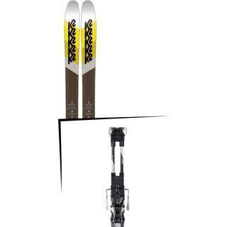 Set: K2 SKI Marksman 2018 + Atomic Tracker 13 MNC black/silver