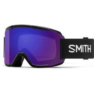 Smith Squad inkl. Wechselscheibe, black/Lens: everyday violet mirror chromapop - Skibrille