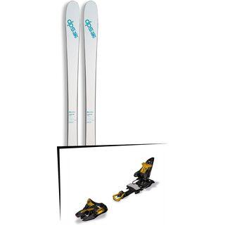 DPS Skis Set: Uschi 85 Pure3 2016 + Marker Kingpin 13