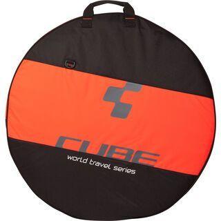 Cube Laufradtasche 1-fach, black´n´flashred