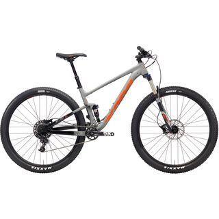 Kona Hei Hei AL 2018, gray/black/orange - Mountainbike