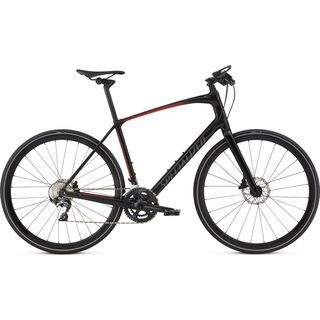 Specialized Sirrus Pro Carbon 2018, black/red - Fitnessbike