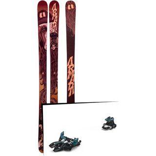 Set: Armada BDog 2019 + Marker Alpinist 9 black/turquoise