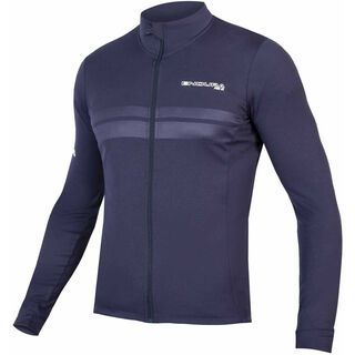 Endura Pro SL L/S Jersey, marineblau - Radtrikot