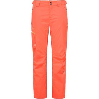 The North Face Womens Sickline Insulated Pant, radiant orange - Skihose