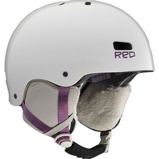 RED Trace, white - Snowboardhelm